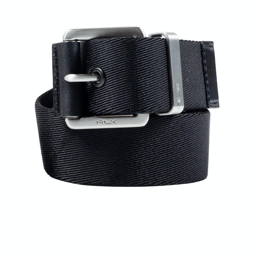 Webbed Belt Polo Black - SS21