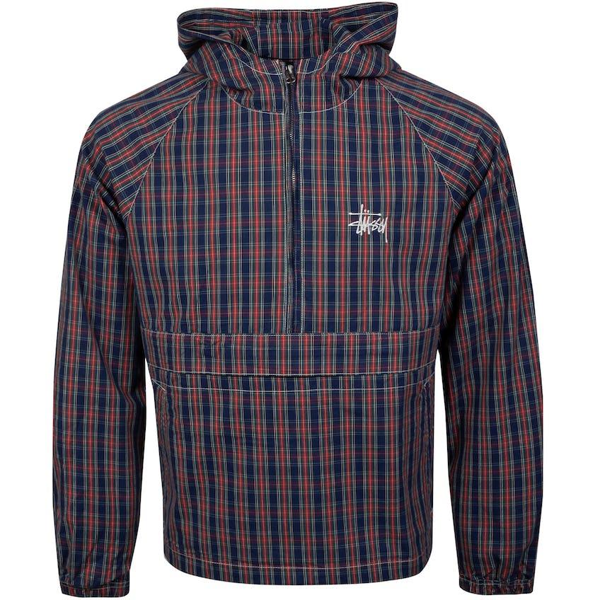 Brushed Cotton Anorak Jacket Plaid - SS21
