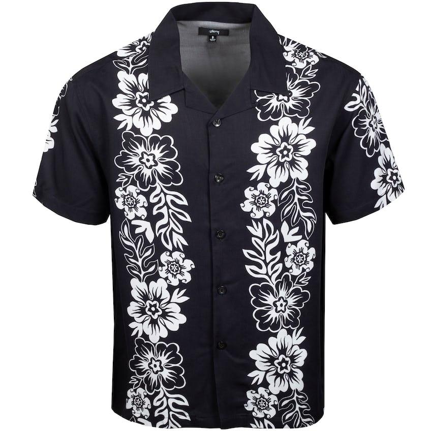 Hawaiian Pattern Shirt Black - SS21