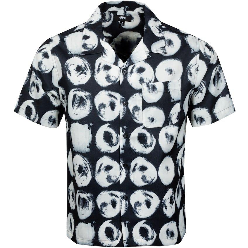 Hand Drawn Dot Shirt Black - SS21 0