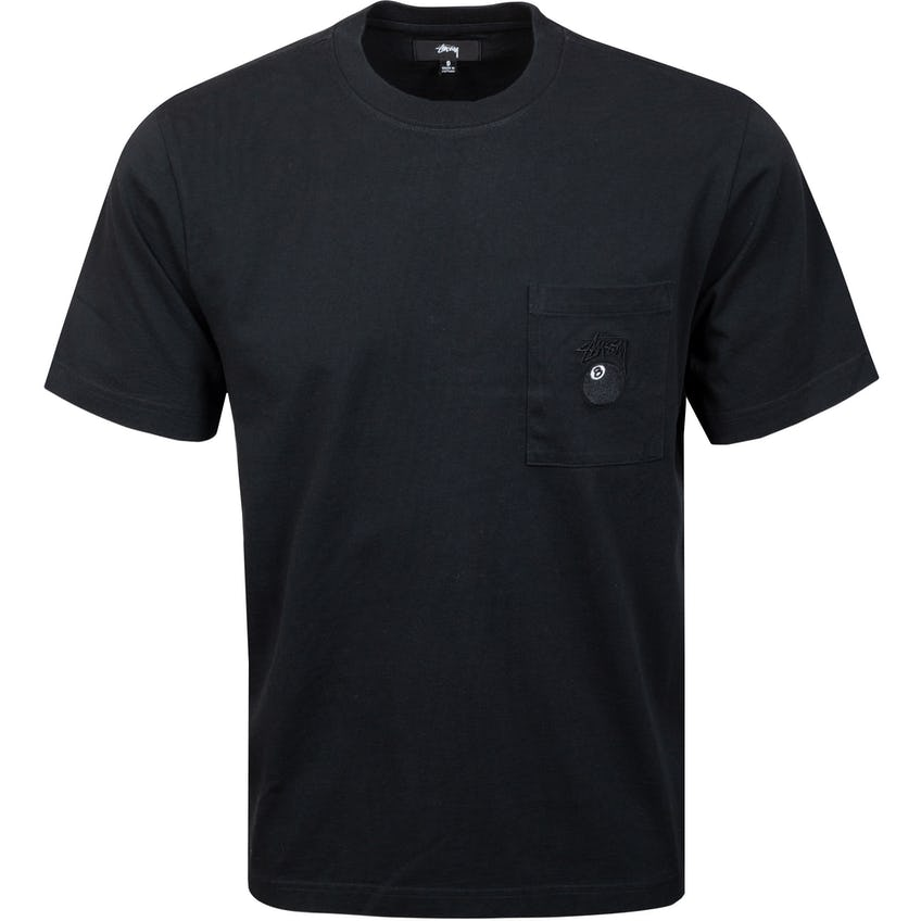8 Ball Pocket Crew Black - SS21