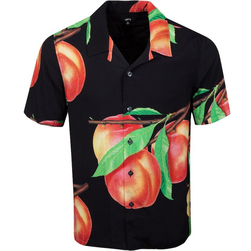 Peach Pattern Shirt Black - SS21