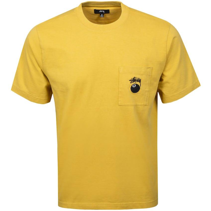 8 Ball Pocket Crew Mustard - SS21