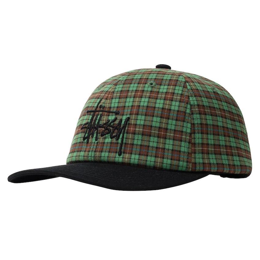 Plaid 2-Tone Low Pro Cap Green - SS21 0