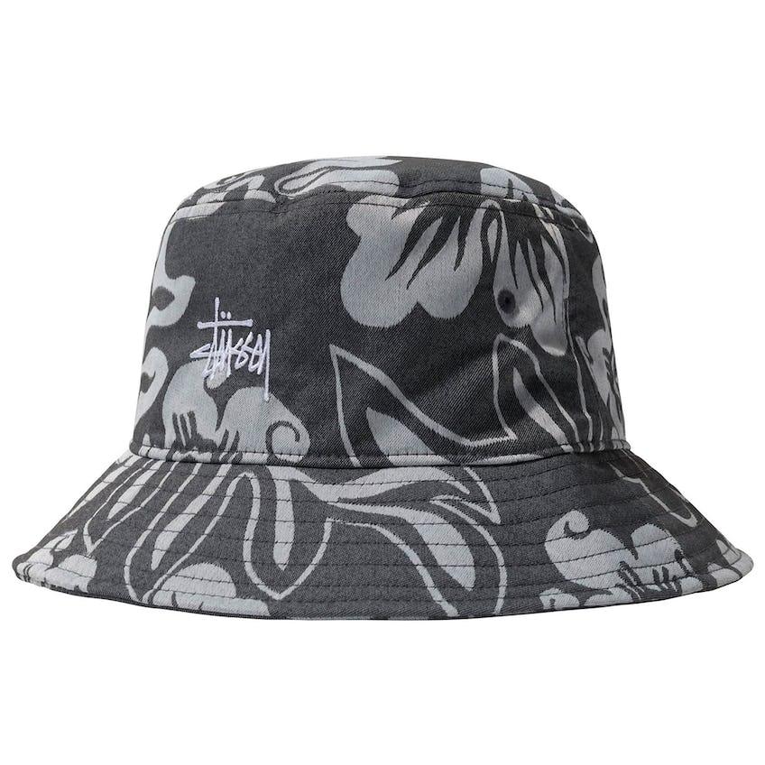 Nylon Hawaiian Bucket Hat White - SS21