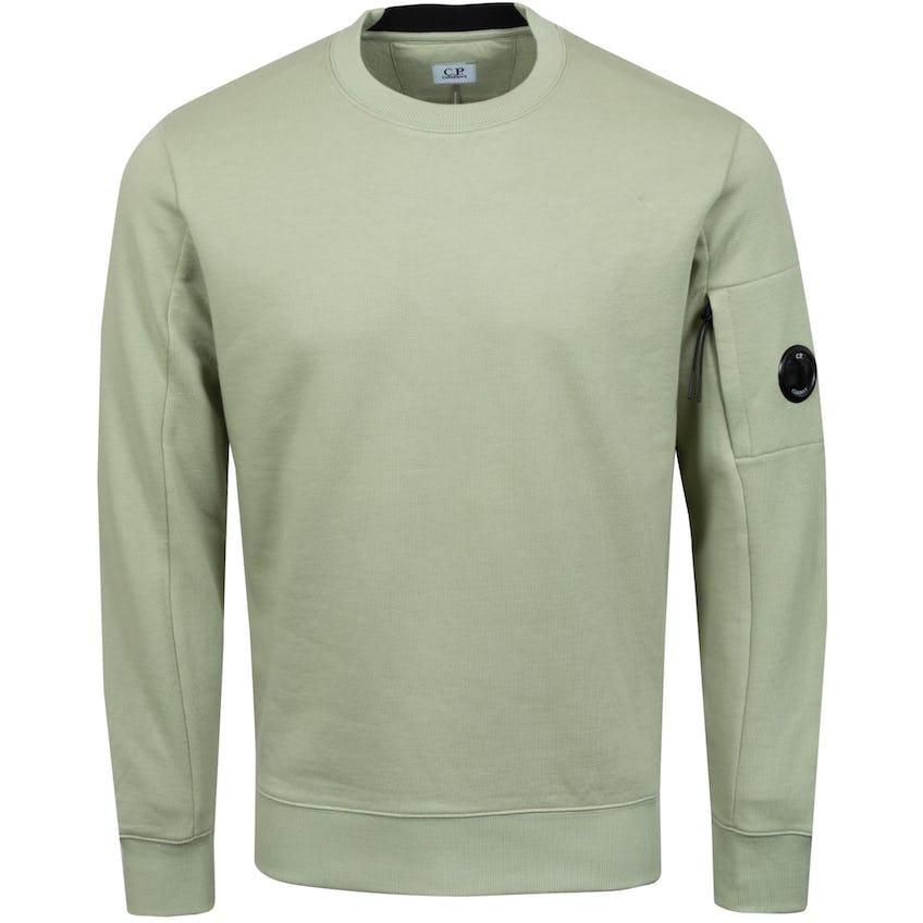 Diagonal Raised Fleece Sweatshirt Tea - SS21
