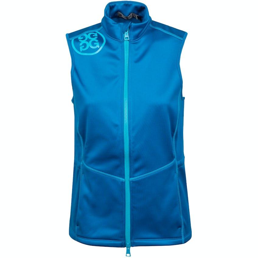 Womens Fleece Backed Vest Mykonos - SS21