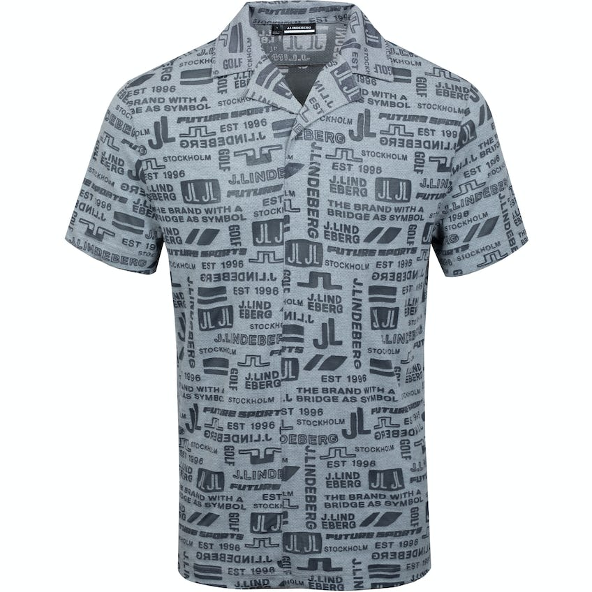 Brad Relaxed Fit Burn Out Mesh Jersey JL Future Grey - SS21 0