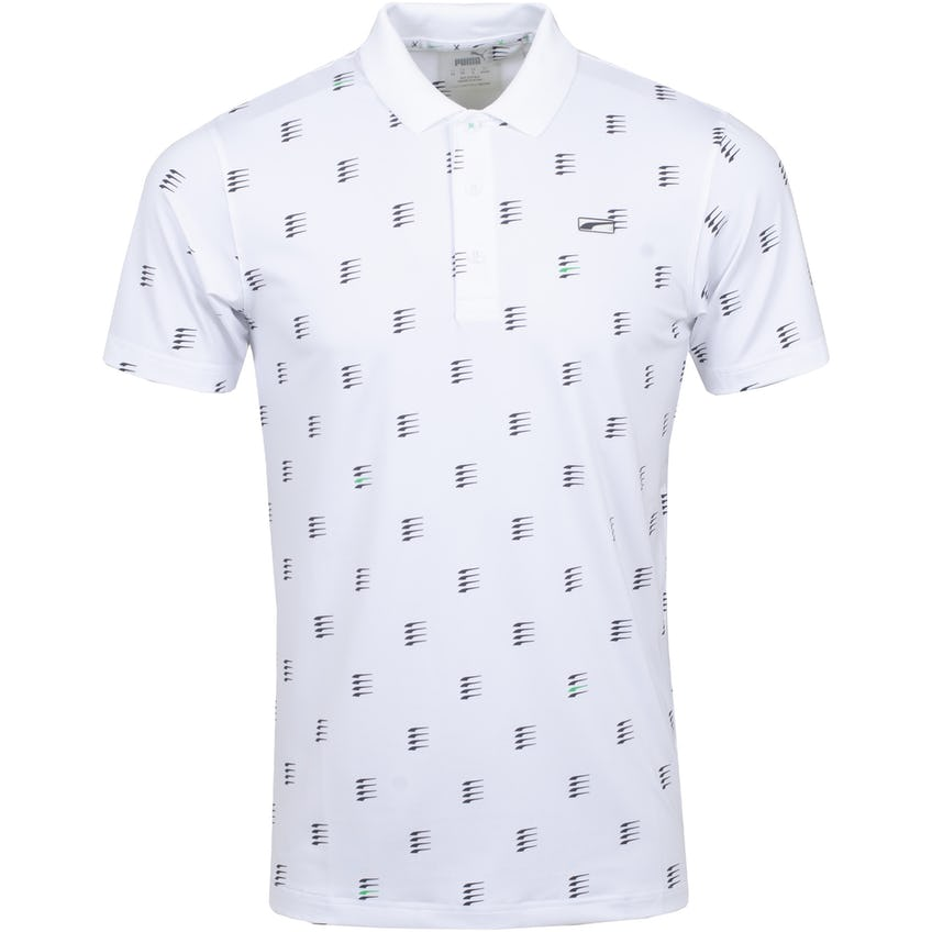 MATTR Moving Day Polo Shirt Bright White - SS21