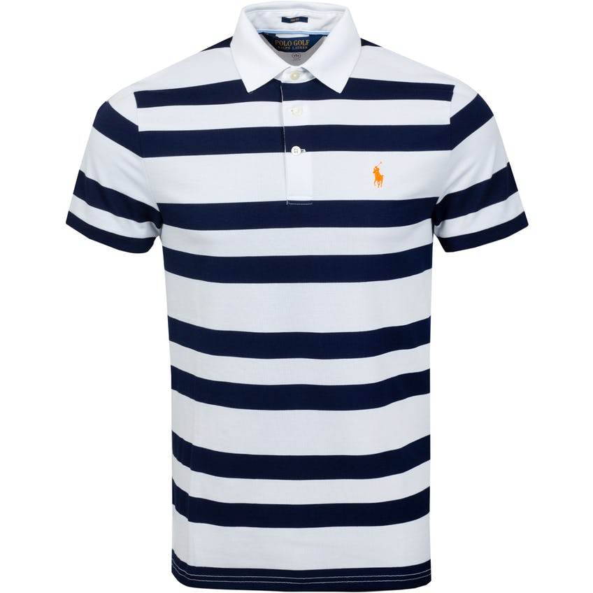 Profit Performance Pique Polo Shirt French Navy/White