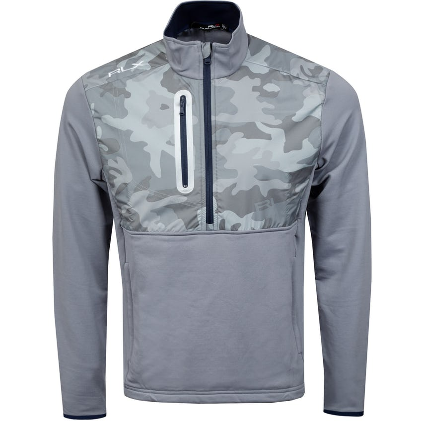 Thermal Tech Long Sleeve Half Zip Basic Grey/Shadow Grey Camo