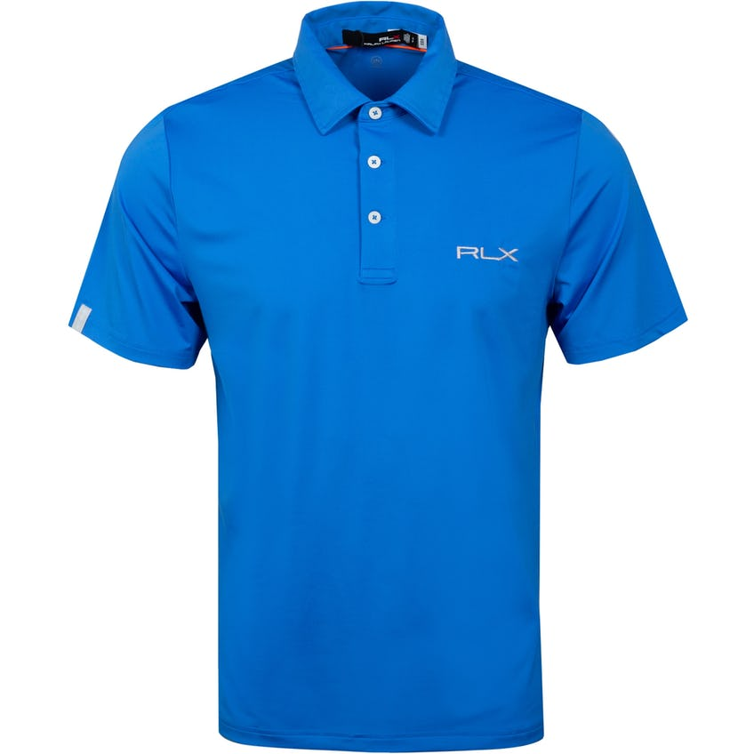 RLX On Course Polo Shirt Colby Blue