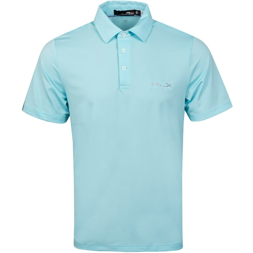 RLX On Course Polo Shirt Soft Aqua 0