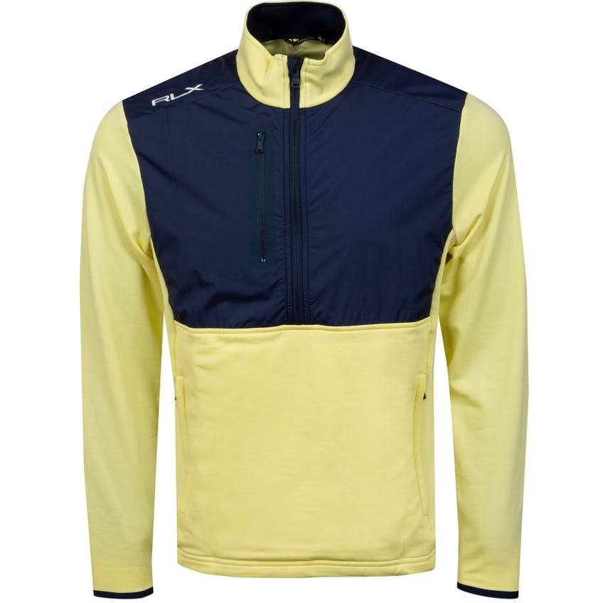 Thermal Tech Long Sleeve Half Zip Bristol Yellow/French Navy