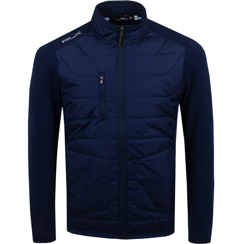 Nylon Coolwool LS Full Zip French Navy