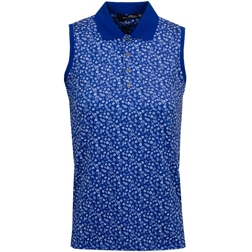 Womens Printed Airflow SL Polo Shirt Mini Island Daisy 0
