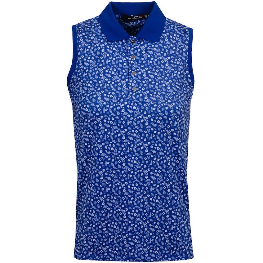 Womens Printed Airflow SL Polo Shirt Mini Island Daisy