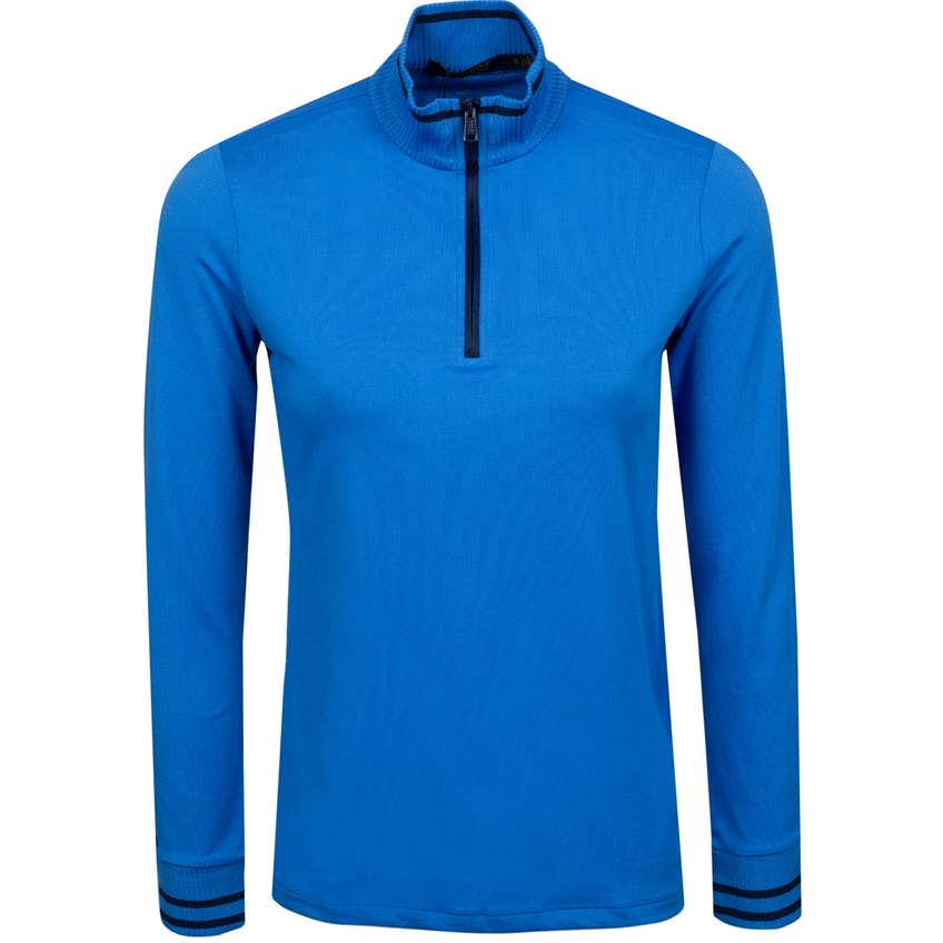 Womens Extreme Jersey Quarter Zip Colby Blue