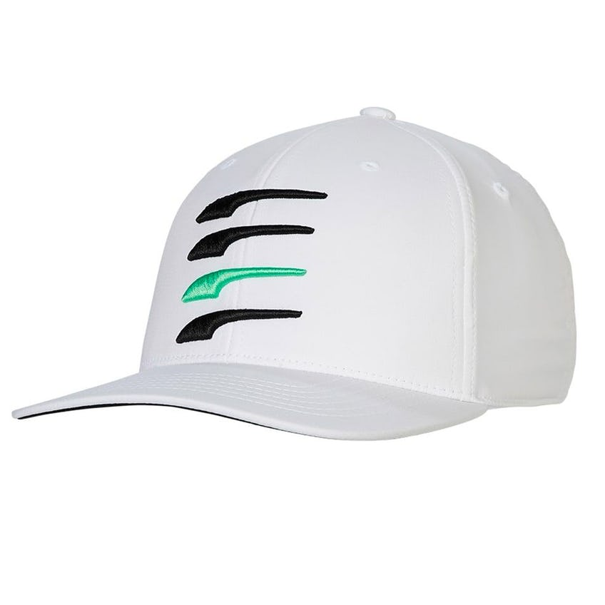 Moving Day 110 Snapback Cap Bright White/Black/Irish Green - SS21