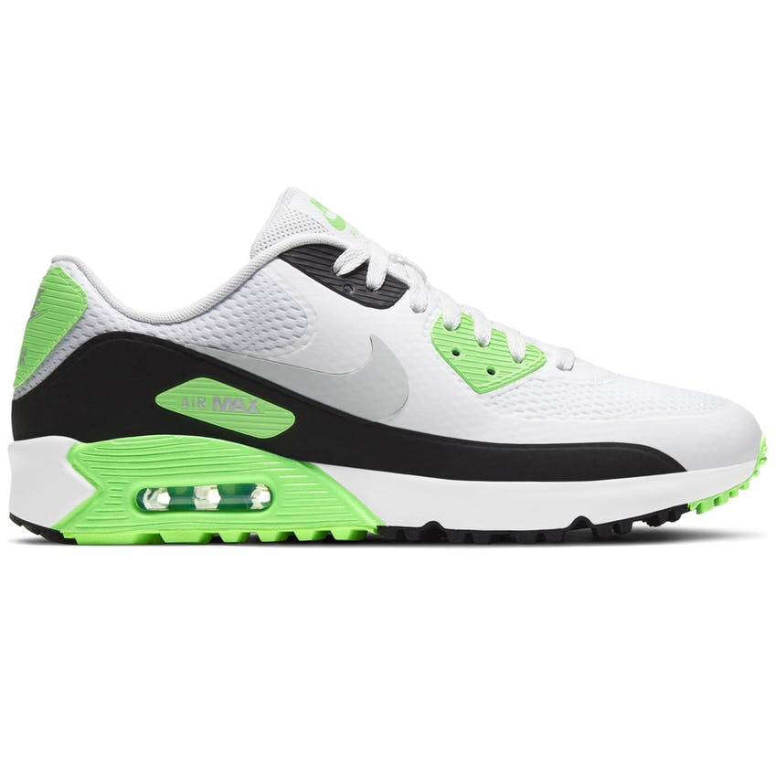 Air Max 90G White/Neutral Grey/Black/Flash Lime-SS21