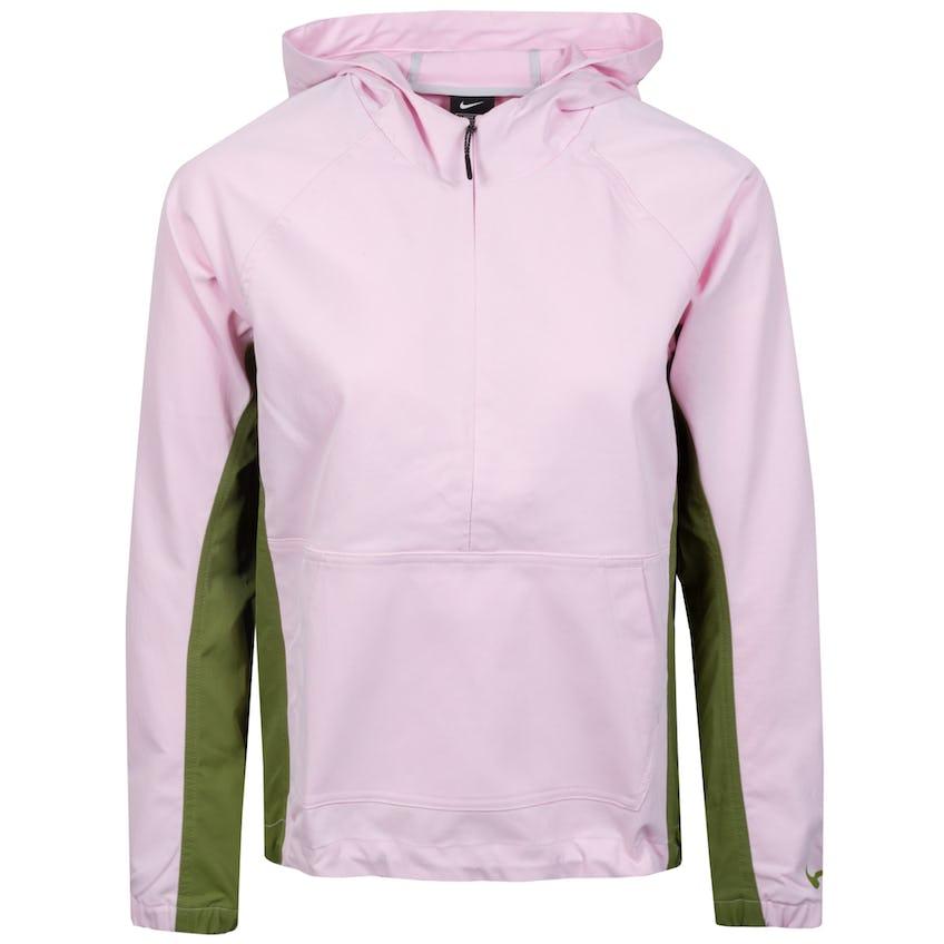 Womens Repel Anorak Jacket Pink Foam/Asparagus - SS21