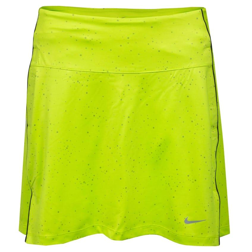 Womens Dry UV 17 In Dot Print Skirt Cyber/Dust - SS21 0