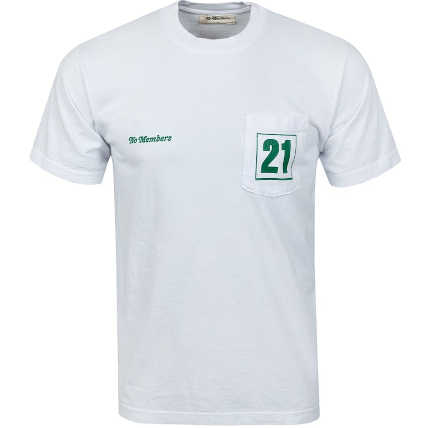 Loopers SS Pocket Tee White - SS21