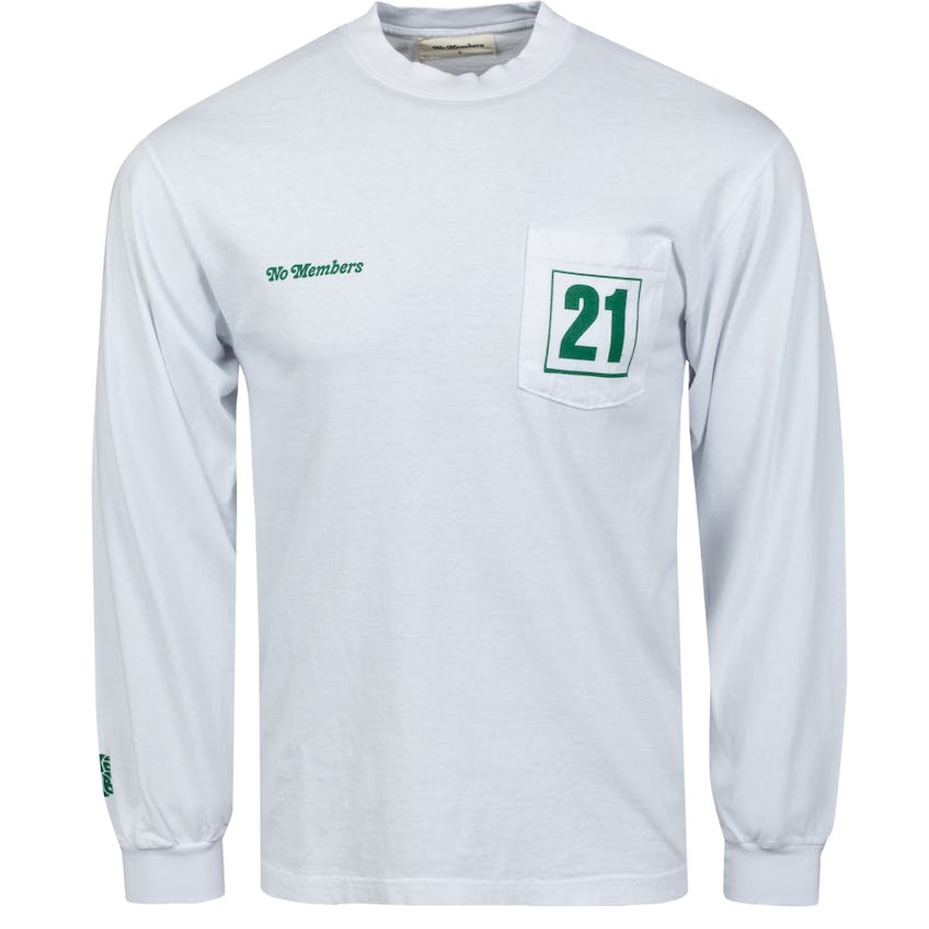 Loopers LS Pocket Tee White - SS21 0