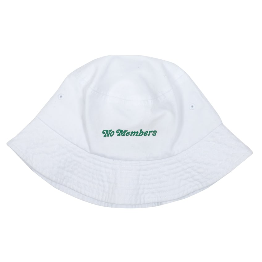 Loopers Bucket Hat White - SS21