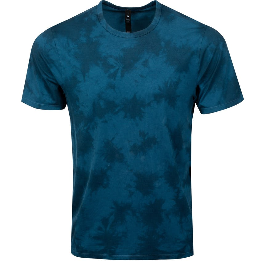 x TRENDYGOLF The Fundamental Tee *Wash New Tide Shibori Blue Borealis - SS21