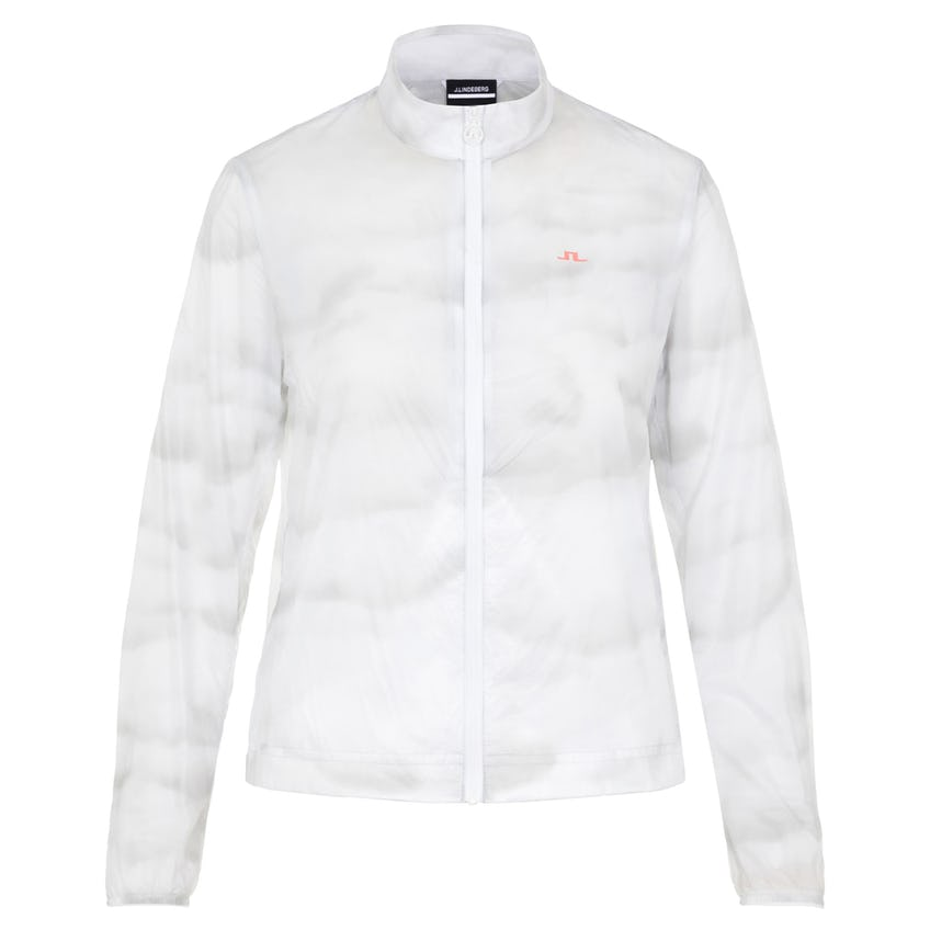 Womens Mina Ultra Light Nylon Wind Jacket Cloud Light Grey - SS21