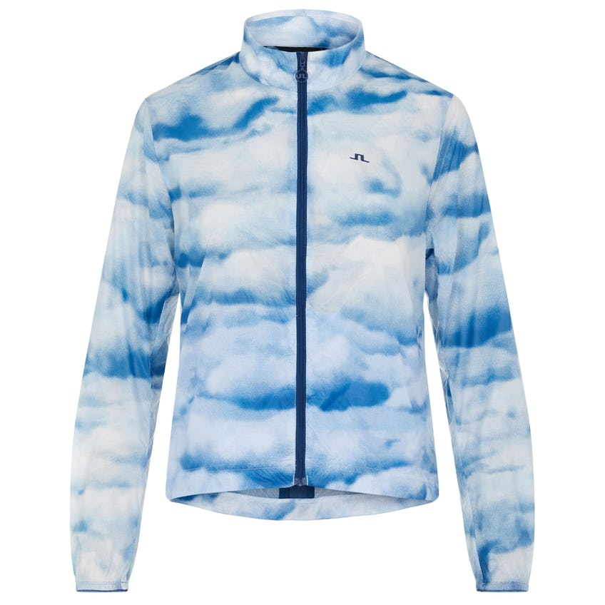 Womens Mina Ultra Light Nylon Wind Jacket Cloud/Midnight/Summer Blue - SS21