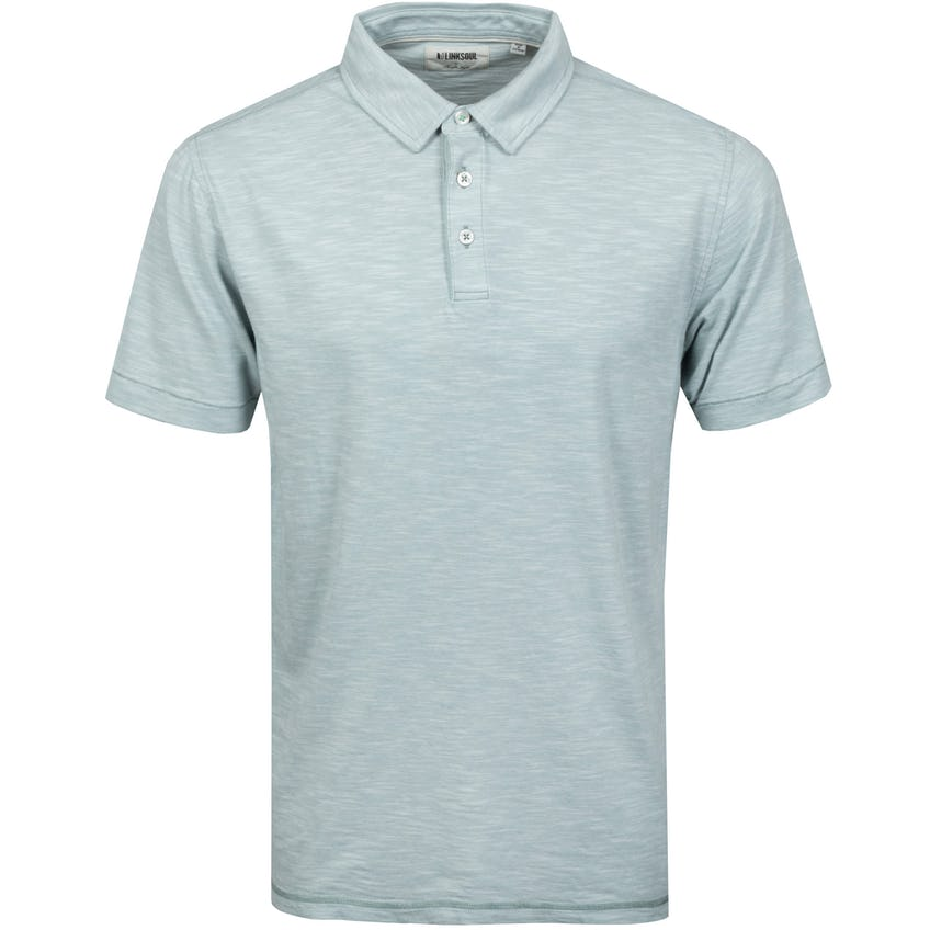 Feeder Stripe Polo Shirt Slate