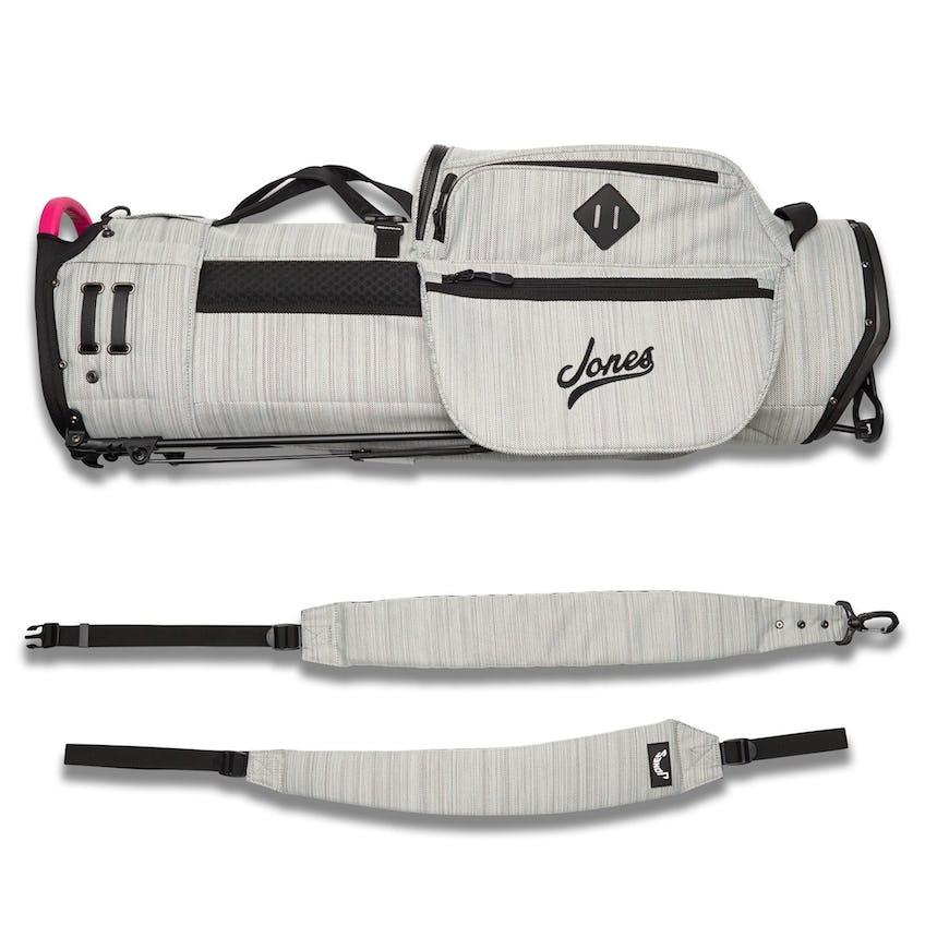 Varsity Utility Trouper Bag Gray Twill/Pink - SS21