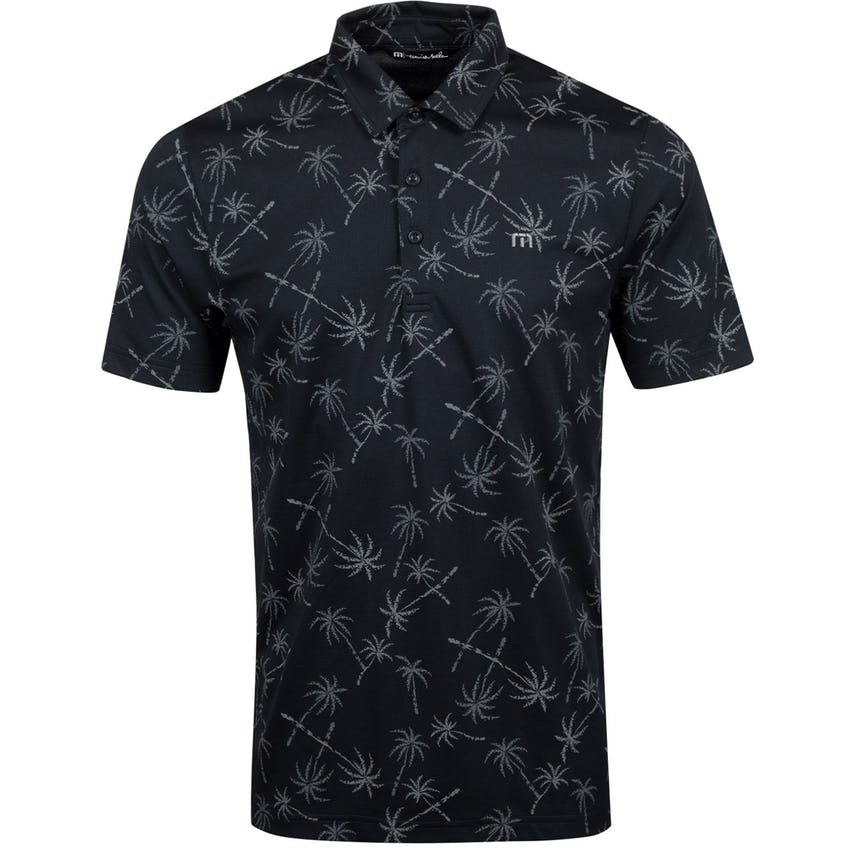 Hand Stamp Polo Shirt Black - SS21