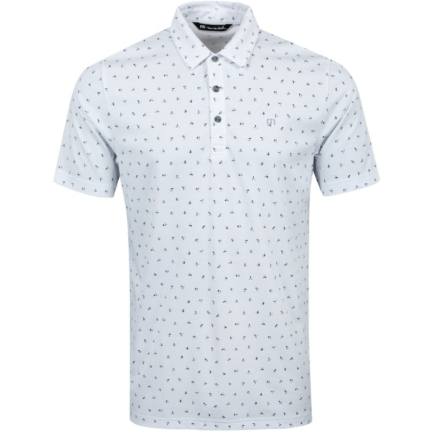 Right To Party Polo Shirt White - SS21