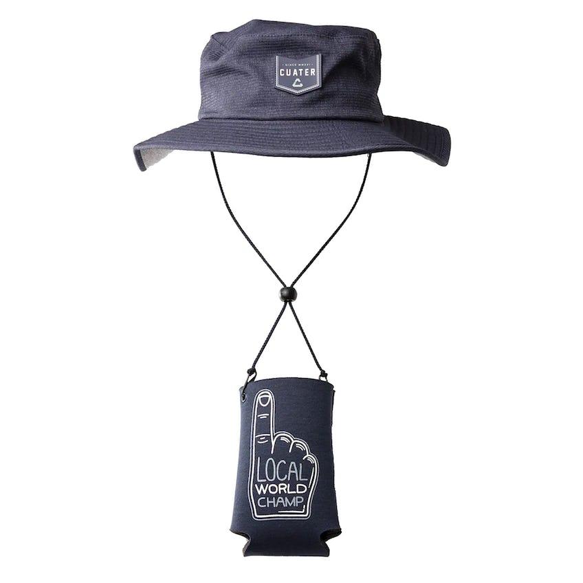 Challenger Bucket Hat Heather Mood Indigo 0
