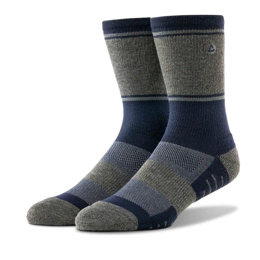 Baja Sock Heather Mood Indigo 0