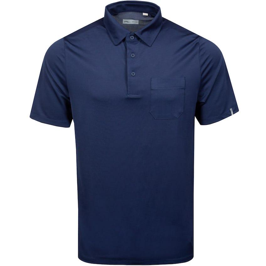 Lee Solid Polo Atlanta Blue - SS21