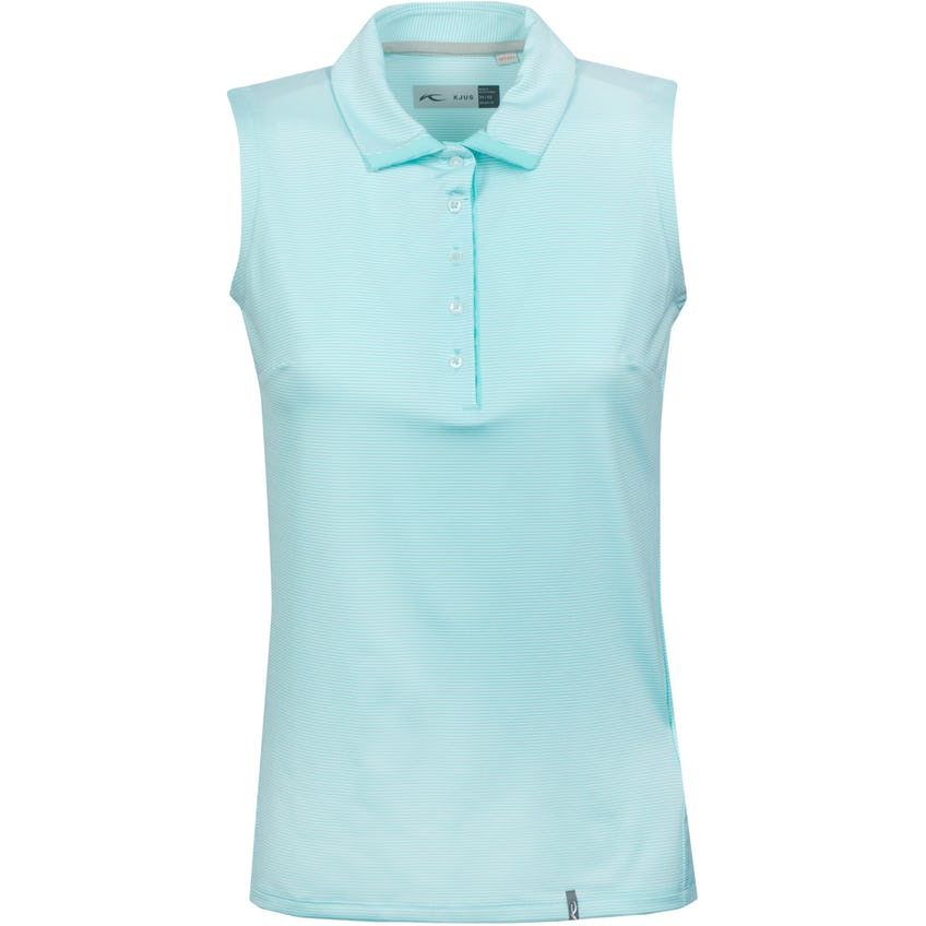 Womens Sina SL Polo Shirt Cool Breeze/White - SS21 0