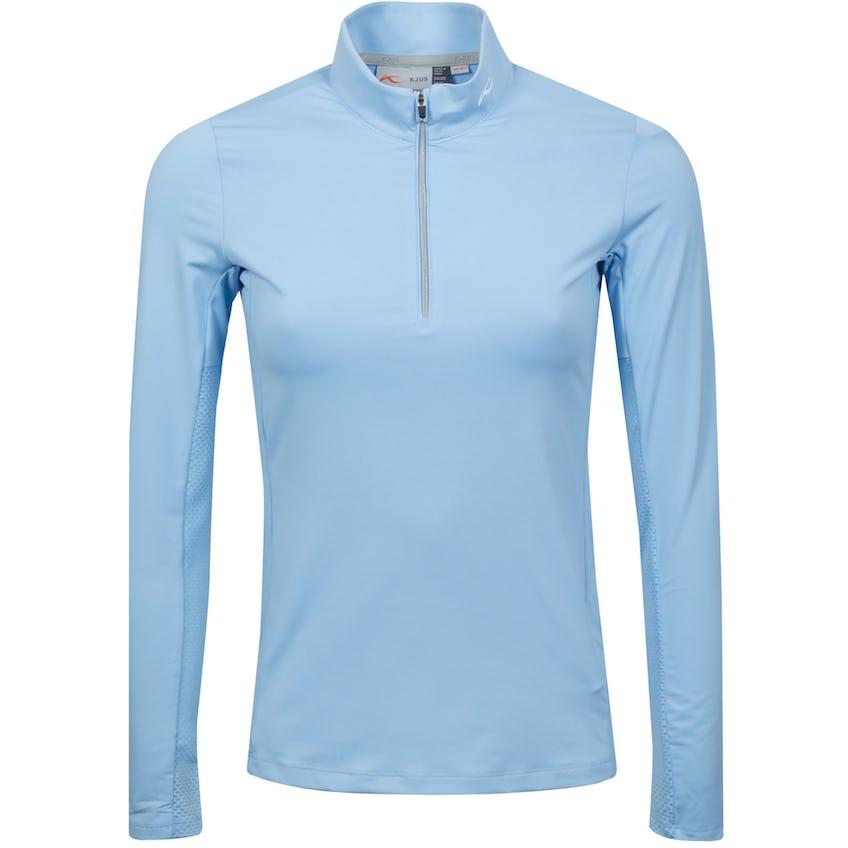 Womens Sunshine Sport Half-Zip Cloud Blue - SS21