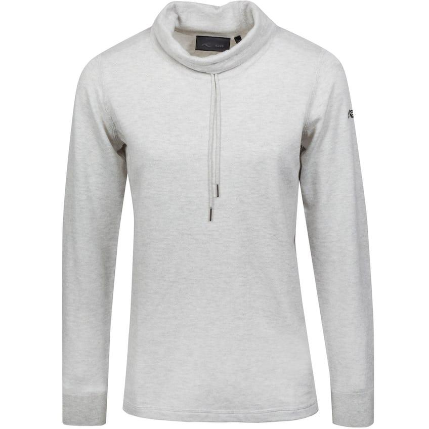 Womens Kessy Sweater Silver Fog Melange - SS21