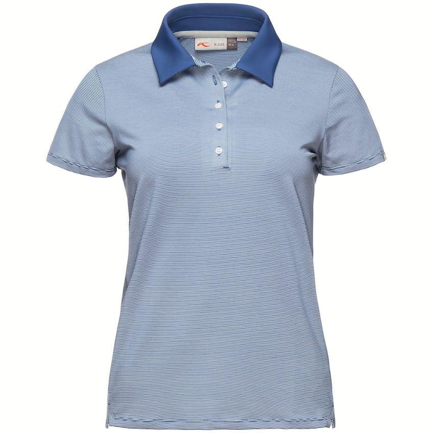 Womens Sina SS Polo Shirt Atlanta Blue/White - SS21 0