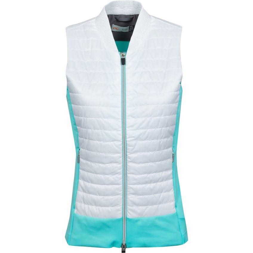 Womens Retention Vest Cool Breeze/White - SS21