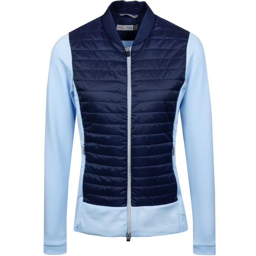 Womens Retention Jacket Cloud Blue/Atlanta Blue - SS21