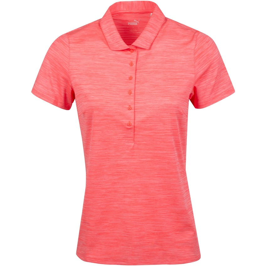 Womens Daily Polo Shirt Ignite Rose Heather 0