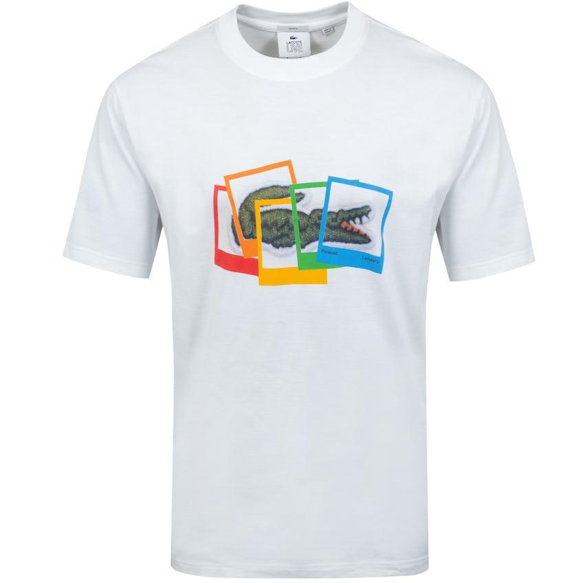 Polaroid Collaboration Loose Fit Cotton T-shirt 0