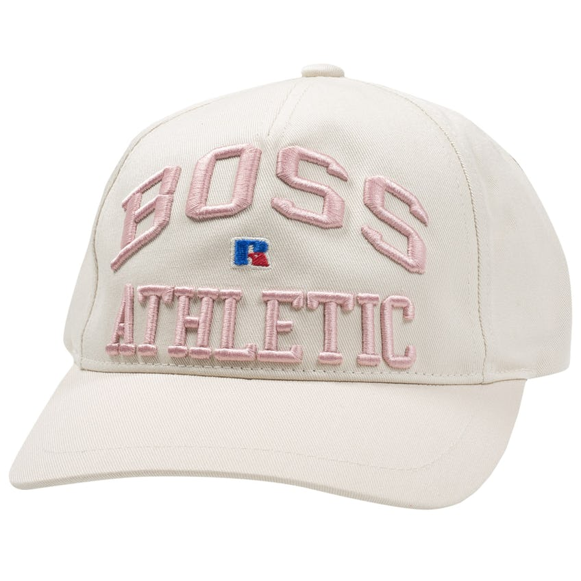 x Russell Athletic Feagle Cap Light Beige