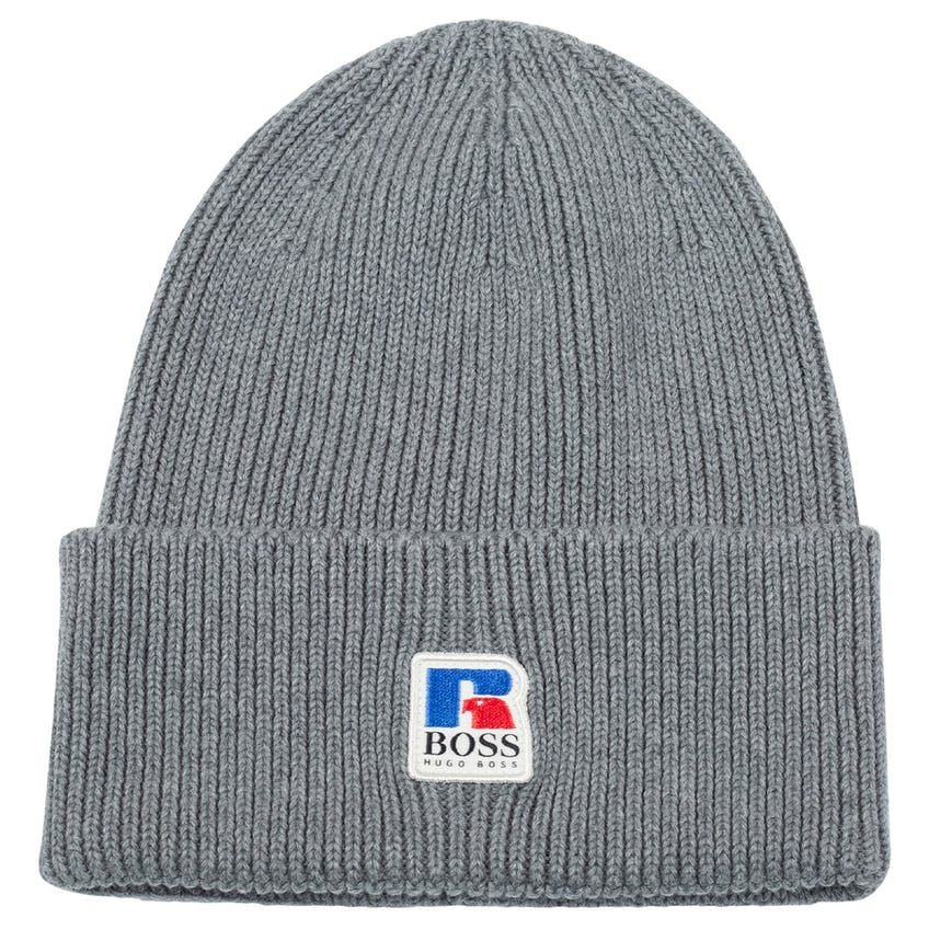 x Russell Athletic Fussel Knit Cap Medium Grey