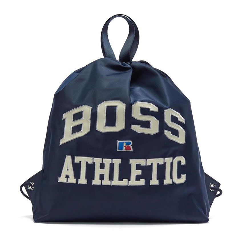 x Russell Athletic Drawstring Backpack Navy